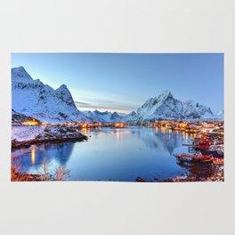 Lofoten islands, Norway Rug