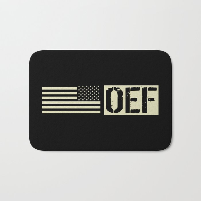 U.S. Military: OEF Bath Mat