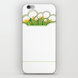 Cala Lily iPhone Skin