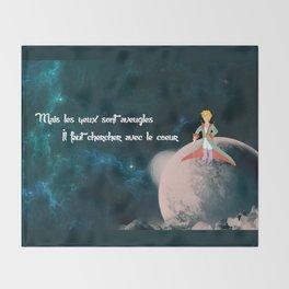Le Petit Prince Throw Blanket