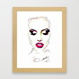 JULIANA (Special Edition) Framed Art Print
