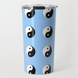 Yin and Yang- Tao,Zen,Taoism,Dao,Harmony,religion,buddhism,buddhist,taijitu,taiji,taoist,china Travel Mug