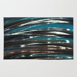 Wave Abstract Rug