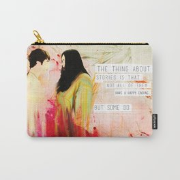 Rae & Finn's Happy Ending Carry-All Pouch