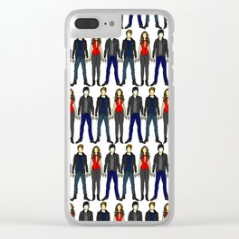 Outfits of Vamps Clear iPhone Case
