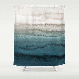 WITHIN THE TIDES - CRASHING WAVES Shower Curtain