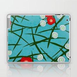 Japenese Water Flowers Pattern Laptop & iPad Skin