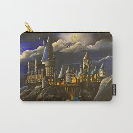 Hogwarts at Starry night Carry-All Pouch
