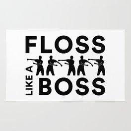 Floss Like A Boss Dance Dance Rug
