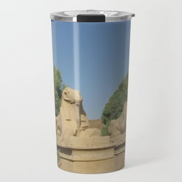 The Avenue of Sphinxes Travel Mug