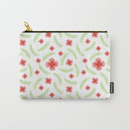 Happy floral pattern Carry-All Pouch