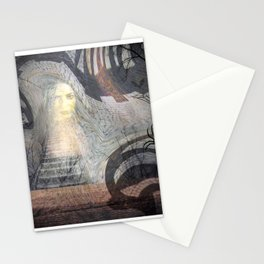Spooky Cave - Enter at Your Own Risk! Stationery Cards