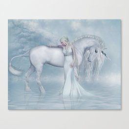 Unicorn dreamer Canvas Print