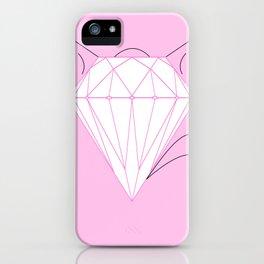 Diamond Cat iPhone Case