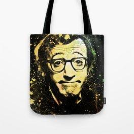 Woody Allen Splashes Tote Bag