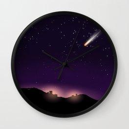 Reentry Wall Clock