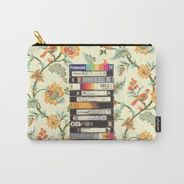 VHS & Entry Hall Wallpaper Carry-All Pouch