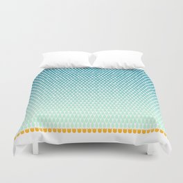 April Showers Bring May Flowers Duvet Cover