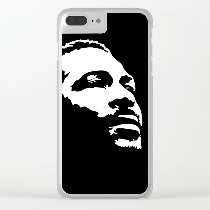 Marvin Clear iPhone Case