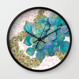 Sea Bulbs Wall Clock