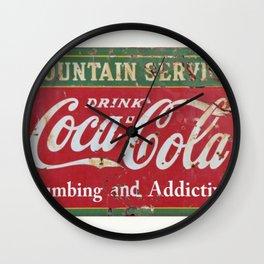Coca- Cola Ad Wall Clock