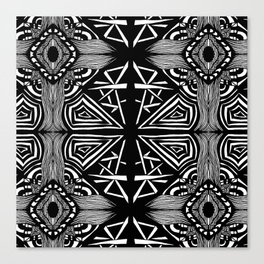 Zentangle #16 Canvas Print