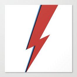 Bowie Bolt Canvas Print