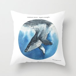 Tondo Humpback Throw Pillow