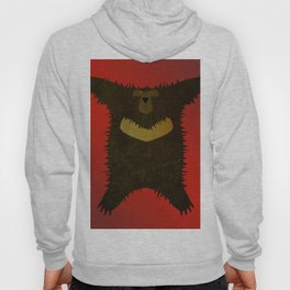 Bear skin rug Hoody