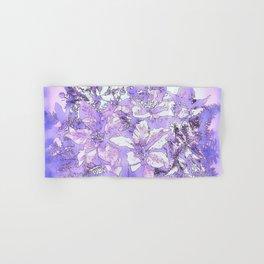 Christmas Bouquet in a purple haze Hand & Bath Towel