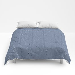 Blue Grey Rainy Windshield Ambience Comforters
