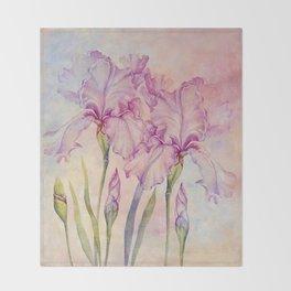 Angel Iris - Pure of Heart Throw Blanket