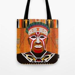 African Tribesman 3 Tote Bag