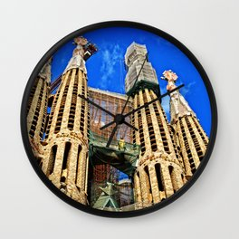 Sagrata Familia Wall Clock