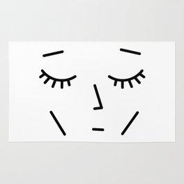 Face Sleep Rug