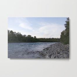River Calgary Metal Print