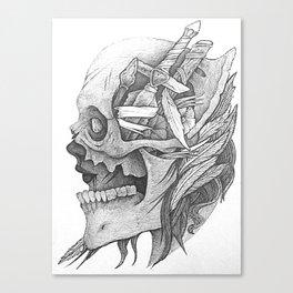 Goddess Of War Canvas Print