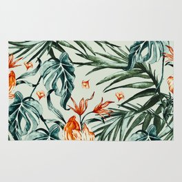 Exotic flower nature-07 Rug