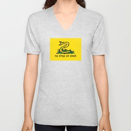 No step on snek Unisex V-Neck