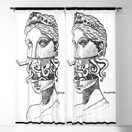 Greek Renaissance Octopus Blackout Curtain