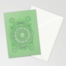 mandala Chakra Anahata Stationery Cards