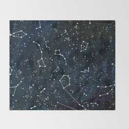 Look to the Stars Throw Blanket