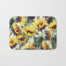 Sunflowers Forever Bath Mat