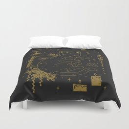 Magical Assistant Duvet Cover