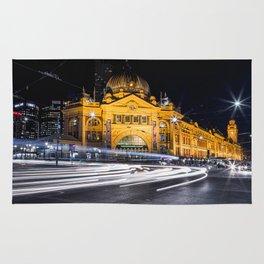 Flinders Street Station Rug