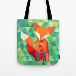 Fox in the woods Tote Bag