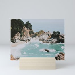big sur / california Mini Art Print
