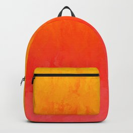 Coral, Guava Pink Abstract Gradient Backpack