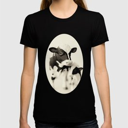 Cow and her calf T-shirt