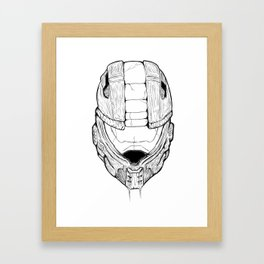 Zombie Chief Framed Art Print